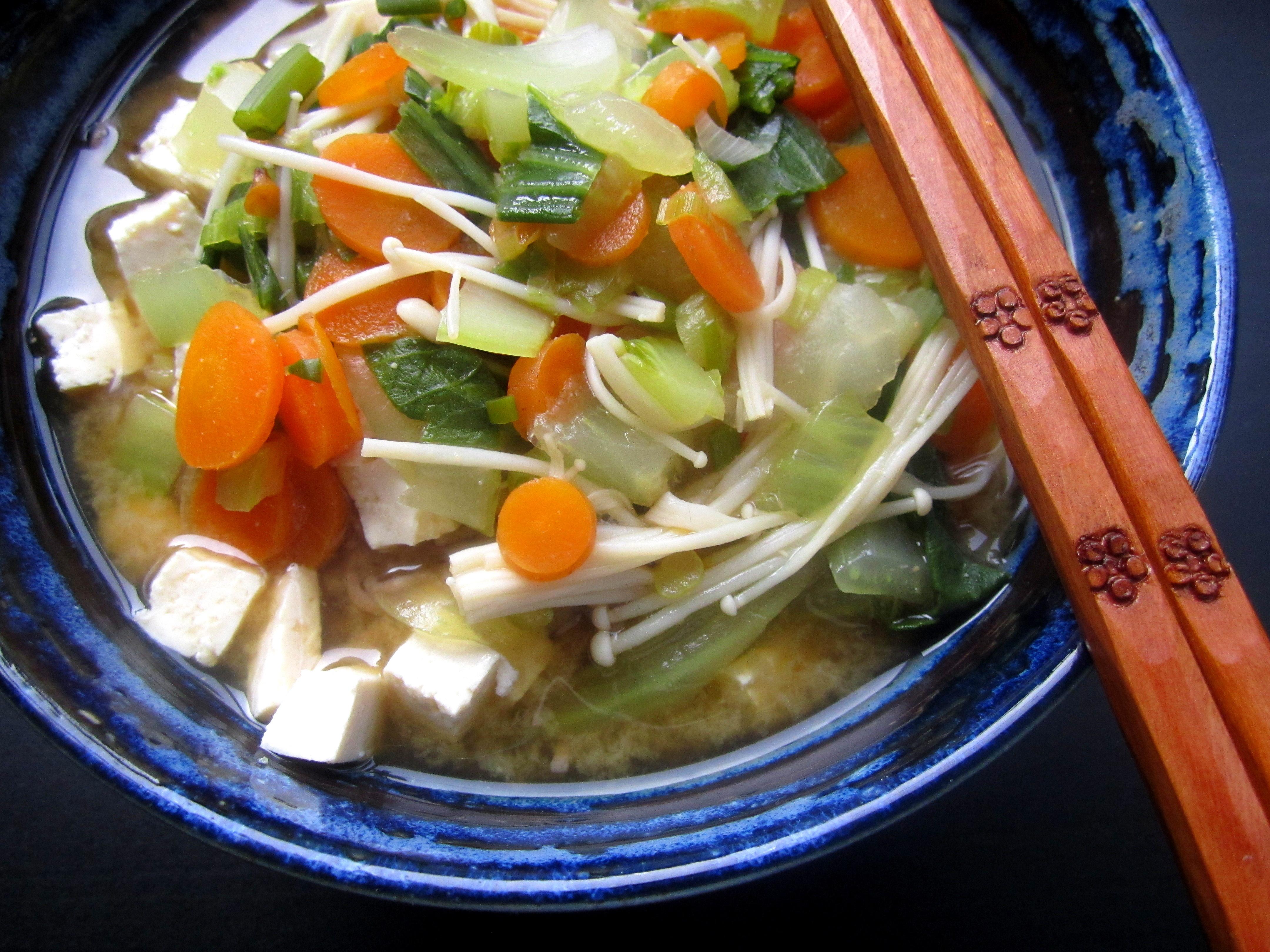 Noodle Bowl Soba Noodle Soup With Miso